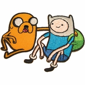 Adventure Time Jake Finn Sit Patch