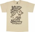 Big Bang Theory Soft Kitty T Shirt