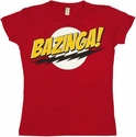 Big Bang Theory Bazinga Baby Tee