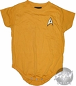 Star Trek Command Gold Snap Suit