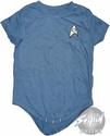 Star Trek Science Blue Snap Suit