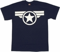 Captain America Soldier Logo T Shirt