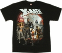 X Men Group T Shirt