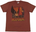 X Men Wolverine Claw T Shirt Sheer