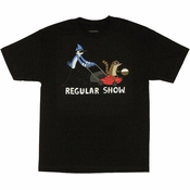 Regular Show Lawn Mower T Shirt