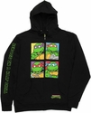 Ninja Turtles Group Squares Hoodie