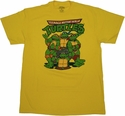 Ninja Turtles Group T Shirt