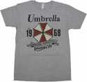 Resident Evil Umbrella T Shirt Sheer