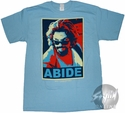 Big Lebowski Abide Colorful T-Shirt