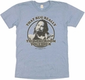 Big Lebowski Rug T Shirt Sheer