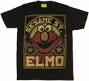 Sesame Street Elmo T-Shirt Sheer