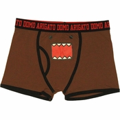 Domo Kun Face Boxer Briefs