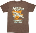 Firefly Save the Verse T Shirt Sheer