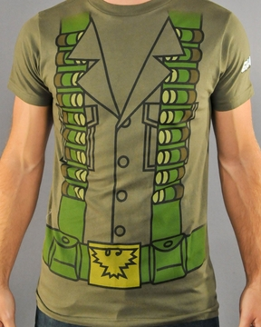 GI JOE Flint Costume T-Shirt Sheer