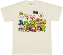 Mario Group T Shirt