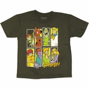 Scooby Doo Boxed Gang Juvenile T Shirt
