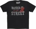 Sesame Street Elmo Raised T Shirt Sheer