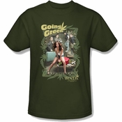 Weeds Green T Shirt