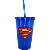 Superman Plastic Travel Cup