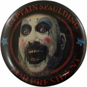 House of 1000 Corpses Spaulding Button