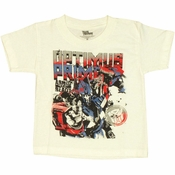 Transformers Optimus Armed Ready Toddler T Shirt