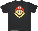 Mario Head Youth T Shirt