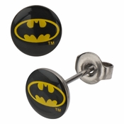 Batman Stud Earrings