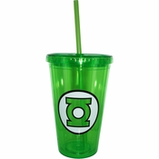 Green Lantern Plastic Travel Cup