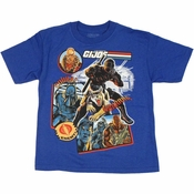 GI Joe Cobra Collage Juvenile T Shirt