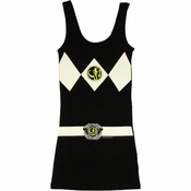 Power Rangers Black Costume Tank Top Dress