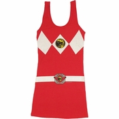 Power Rangers Red Costume Tank Top Dress