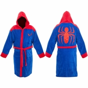 Spiderman Hooded Robe
