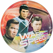 Star Trek Warp Clock