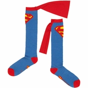 Superman Caped Socks