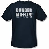 Office Dunder Navy T Shirt