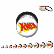 X Men Steel Plugs