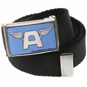 Captain America A Logo Mesh Belt