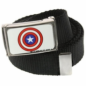 Captain America Shield Mesh Belt