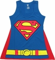 Supergirl Cape Tank Top Baby Tee