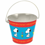 Peanuts Party Tin Bucket