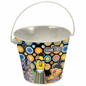 Sesame Street Group Tin Bucket