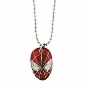 Spiderman Head Necklace