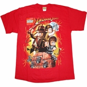Indiana Jones Lego Youth T Shirt