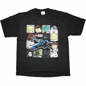 Star Wars Lego Heads Youth T Shirt