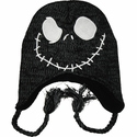Nightmare Before Christmas Jack Black Lapland Beanie