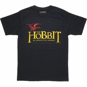 Hobbit Journey Smaug Logo T Shirt