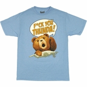 Ted Thunder Song T Shirt Sheer