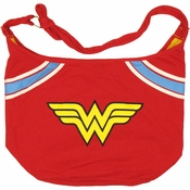 Wonder Woman Logo Hobo Bag