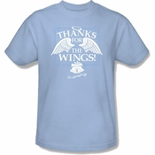 Its a Wonderful Life Wings T Shirt
