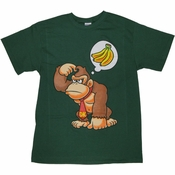 Nintendo Donkey Kong Thought Hunter T Shirt